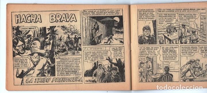 Tebeos: HACHA BRAVA # 31 TOMAJAUK EL REY DEL PELIGRO MUCHNIK 1957 HOPALONG CASSIDY VIGILANTE 48 P EXCELENTE - Foto 8 - 134134402
