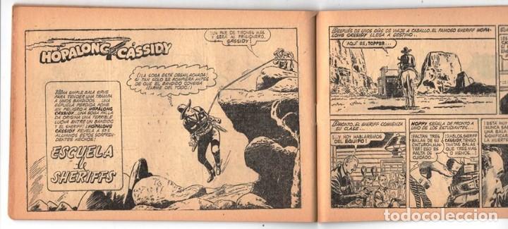 Tebeos: HACHA BRAVA # 31 TOMAJAUK EL REY DEL PELIGRO MUCHNIK 1957 HOPALONG CASSIDY VIGILANTE 48 P EXCELENTE - Foto 9 - 134134402