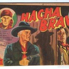 Tebeos: HACHA BRAVA # 32 TOMAJAUK EL GUERRERO SOLITARIO MUCHNIK 1957 HOPALONG CASSIDY VIGILANTE 48 P EXCELEN. Lote 134135490