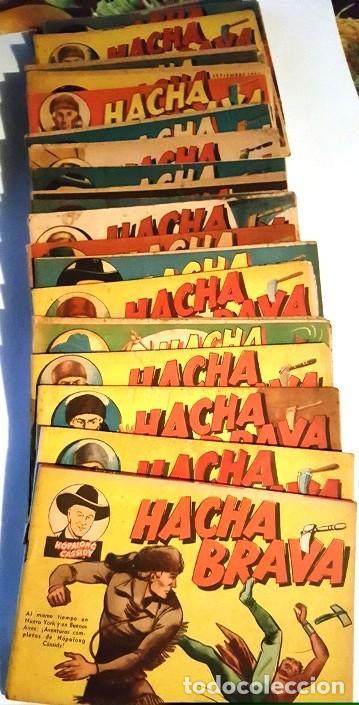 Tebeos: HACHA BRAVA # 32 TOMAJAUK EL GUERRERO SOLITARIO MUCHNIK 1957 HOPALONG CASSIDY VIGILANTE 48 P EXCELEN - Foto 2 - 134135490