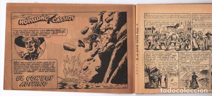 Tebeos: HACHA BRAVA # 32 TOMAJAUK EL GUERRERO SOLITARIO MUCHNIK 1957 HOPALONG CASSIDY VIGILANTE 48 P EXCELEN - Foto 3 - 134135490