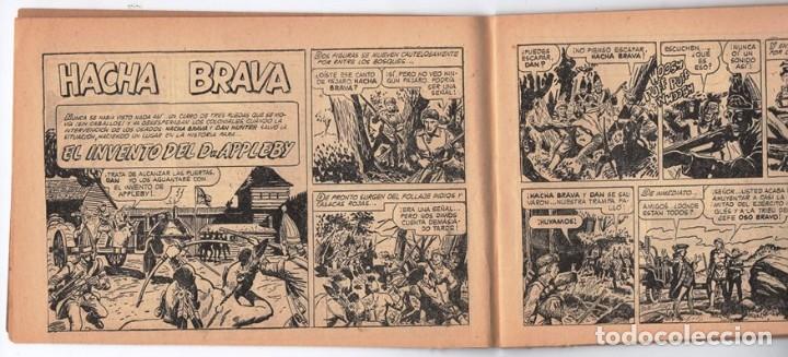 Tebeos: HACHA BRAVA # 32 TOMAJAUK EL GUERRERO SOLITARIO MUCHNIK 1957 HOPALONG CASSIDY VIGILANTE 48 P EXCELEN - Foto 4 - 134135490
