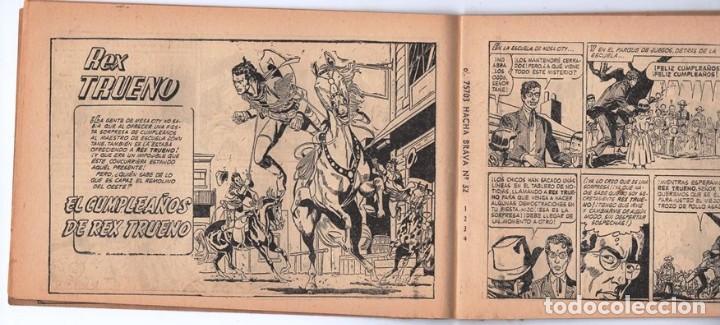 Tebeos: HACHA BRAVA # 32 TOMAJAUK EL GUERRERO SOLITARIO MUCHNIK 1957 HOPALONG CASSIDY VIGILANTE 48 P EXCELEN - Foto 5 - 134135490