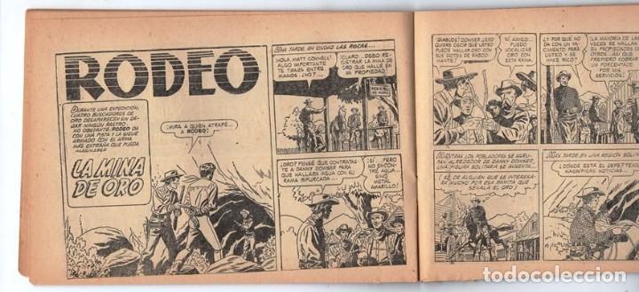 Tebeos: HACHA BRAVA # 32 TOMAJAUK EL GUERRERO SOLITARIO MUCHNIK 1957 HOPALONG CASSIDY VIGILANTE 48 P EXCELEN - Foto 7 - 134135490