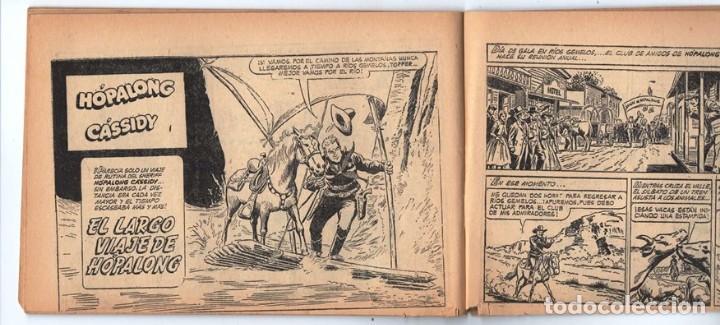 Tebeos: HACHA BRAVA # 32 TOMAJAUK EL GUERRERO SOLITARIO MUCHNIK 1957 HOPALONG CASSIDY VIGILANTE 48 P EXCELEN - Foto 9 - 134135490
