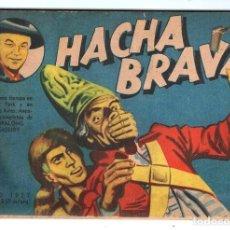 Tebeos: HACHA BRAVA # 33 TOMAJAUK REGRESO DAVID CROCKETT MUCHNIK 1957 HOPALONG CASSIDY VIGILANTE 48 P BUEN. Lote 134137170