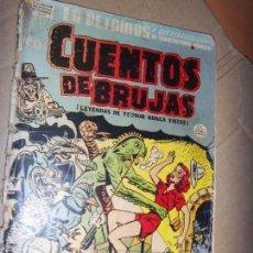 Tebeos: CUENTOS DE BRUJAS N.13 1952 MONSTRUOS Y CC.FF. OFERTA! LA PRENSA MEXICO/MEXICANA. Lote 134138690