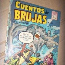 Tebeos: CUENTOS DE BRUJAS N.119 PRES. MISTERIO, KIRBY 1959 OFERTA LA PRENSA MEXICO. Lote 134138854