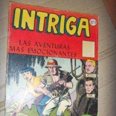 Tebeos: INTRIGA N. 11 1958 CIENCIA FICCION Y MISTERIO, LA PRENSA MEXICANA OFERTA. Lote 134138958