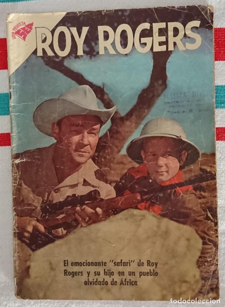 COMIC ROY ROGERS Nº101 NOVARO 1961 (Tebeos y Comics - Novaro - Roy Roger)