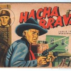 Tebeos: HACHA BRAVA # 34 TOMAJAUK EL ATAQUE AEREO MUCHNIK 1957 HOPALONG CASSIDY VIGILANTE 48 P EXCELENTE. Lote 134245934