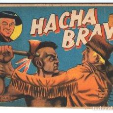 Tebeos: HACHA BRAVA # 35 TOMAJAUK JEFE DE LAS 1.000 CARAS MUCHNIK 1957 HOPALONG CASSIDY VIGILANTE 48 P EXCEL. Lote 134246614