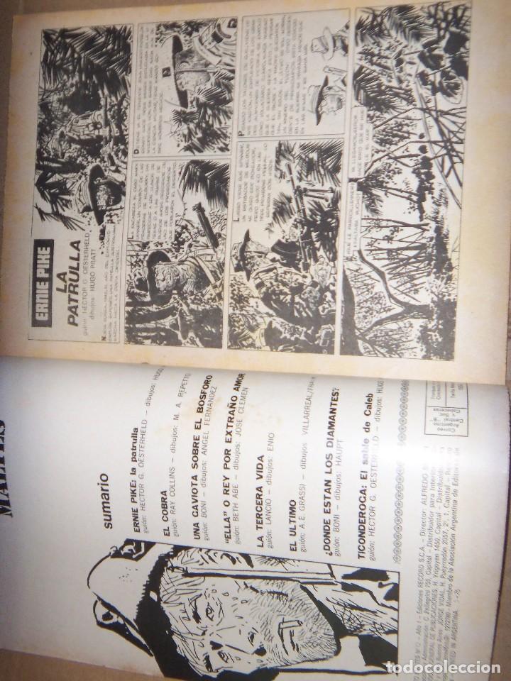 Tebeos: CORTO MALTES N.12 de HUGO PRATT-ERNIE PIKE 7 AVENTURAS COMPLETAS GUION OESTERHELD edit. RECORD - Foto 2 - 134247258
