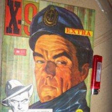Tebeos: X-9 EXTRA N.31 , ACCION, AVENTURAS CC.FF. TERROR, 1965. Lote 134247382