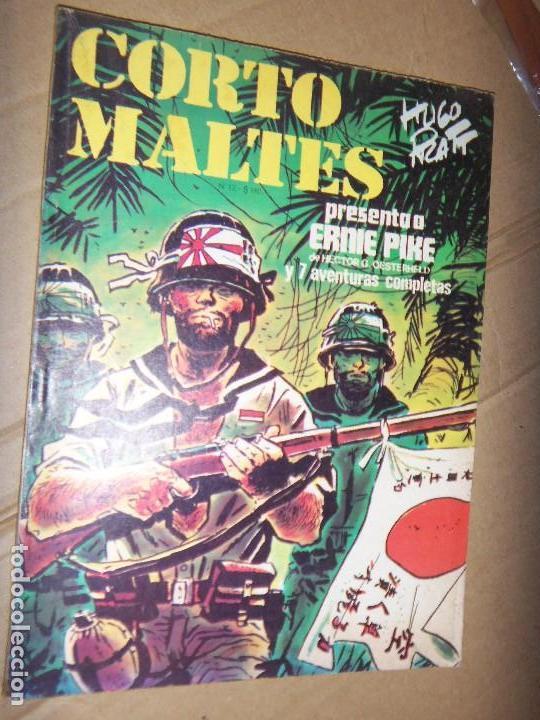 CORTO MALTES N.12 DE HUGO PRATT-ERNIE PIKE 7 AVENTURAS COMPLETAS GUION OESTERHELD EDIT. RECORD (Tebeos y Comics - Novaro - Sci-Fi)