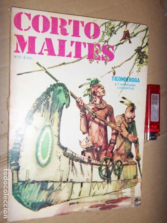 CORTO MALTES N.12 DE HUGO PRATT-TICONDERONGA-AVENTURAS COMPLETAS GUION OESTERHELD EDIT. RECORD (Tebeos y Comics - Novaro - Sci-Fi)