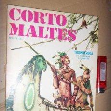 Tebeos: CORTO MALTES N.12 DE HUGO PRATT-TICONDERONGA-AVENTURAS COMPLETAS GUION OESTERHELD EDIT. RECORD. Lote 134247282