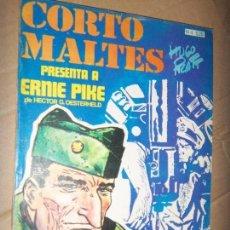 Tebeos: CORTO MALTES N.4 DE HUGO PRATT-ERNIE PIKE 7 AVENTURAS COMPLETAS GUION OESTERHELD EDIT. RECORD. Lote 134247326