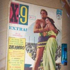 Tebeos: X-9 EXTRA N.20, ACCION, AVENTURAS CC.FF. TERROR, 1963. Lote 134247642