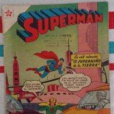 Tebeos: SUPERMÁN Nº 114. ORIGINAL NOVARO 1957. BUEN ESTADO. Lote 134332874