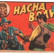 Tebeos: HACHA BRAVA # 36 TOMAJAUK EL RAID NOCTURNO MUCHNIK 1957 HOPALONG CASSIDY VIGILANTE 48 P EXCELENTE. Lote 134348022