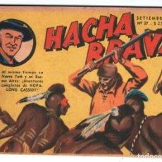 Tebeos: HACHA BRAVA # 37 TOMAJAUK EL SECRETO DE LA MARACA MUCHNIK 1957 HOPALONG CASSIDY VIGILANTE 48 P EXCEL. Lote 134348442