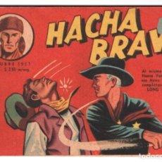 Tebeos: HACHA BRAVA # 38 TOMAJAUK LOS MOSQUETEROS INDIOS MUCHNIK 1957 HOPALONG CASSIDY VIGILANTE 48 P EXCELE. Lote 134453890