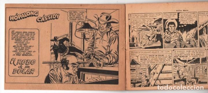 Tebeos: HACHA BRAVA # 38 TOMAJAUK LOS MOSQUETEROS INDIOS MUCHNIK 1957 HOPALONG CASSIDY VIGILANTE 48 P EXCELE - Foto 3 - 134453890