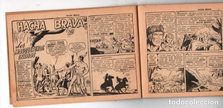 Tebeos: HACHA BRAVA # 38 TOMAJAUK LOS MOSQUETEROS INDIOS MUCHNIK 1957 HOPALONG CASSIDY VIGILANTE 48 P EXCELE - Foto 4 - 134453890
