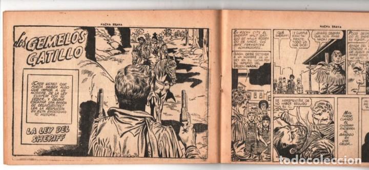 Tebeos: HACHA BRAVA # 38 TOMAJAUK LOS MOSQUETEROS INDIOS MUCHNIK 1957 HOPALONG CASSIDY VIGILANTE 48 P EXCELE - Foto 6 - 134453890