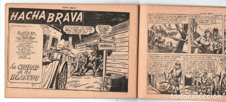 Tebeos: HACHA BRAVA # 38 TOMAJAUK LOS MOSQUETEROS INDIOS MUCHNIK 1957 HOPALONG CASSIDY VIGILANTE 48 P EXCELE - Foto 8 - 134453890