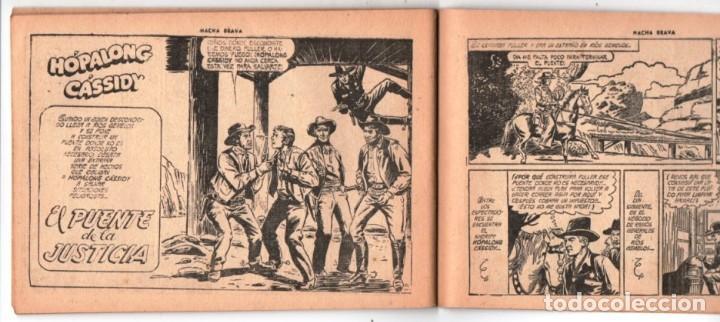 Tebeos: HACHA BRAVA # 38 TOMAJAUK LOS MOSQUETEROS INDIOS MUCHNIK 1957 HOPALONG CASSIDY VIGILANTE 48 P EXCELE - Foto 9 - 134453890