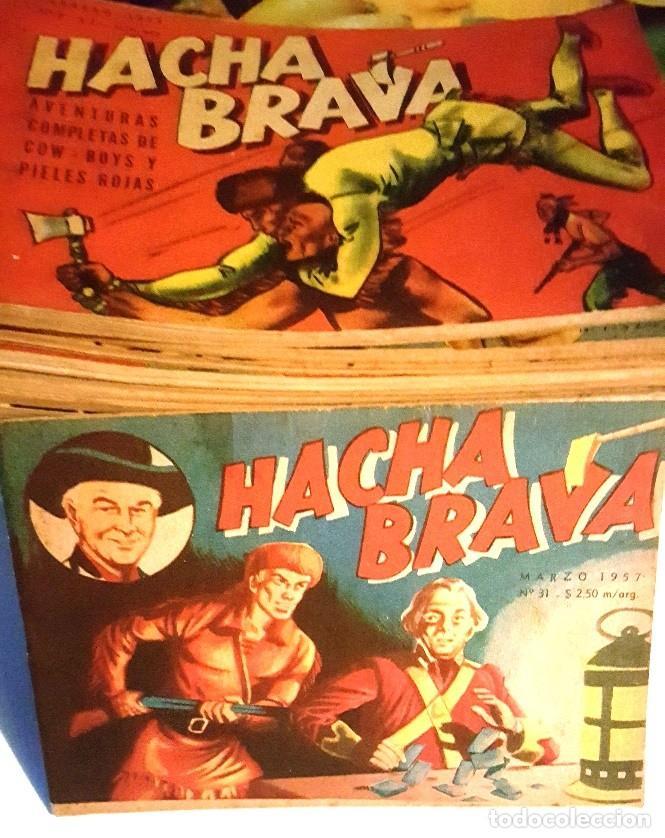 Tebeos: HACHA BRAVA # 38 TOMAJAUK LOS MOSQUETEROS INDIOS MUCHNIK 1957 HOPALONG CASSIDY VIGILANTE 48 P EXCELE - Foto 11 - 134453890
