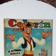 Tebeos: COLORÍN N° 9 - (AÑO 1952) ORIGINAL EDITADO POR PUBLICACIONES HERRERÍAS S.A. (MÉXICO). Lote 134826818