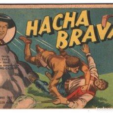 Tebeos: HACHA BRAVA # 39 TOMAJAUK RIÑA FRONTERIZA MUCHNIK 1957 HOPALONG CASSIDY VIGILANTE 48 P EXCELENTE. Lote 134838802