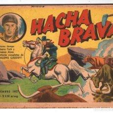 Tebeos: HACHA BRAVA # 40 TOMAJAUK RETORNO DE LA MASCARA MUCHNIK 1957 HOPALONG CASSIDY VIGILANTE 48 P EXCELEN. Lote 134871226