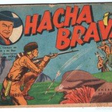 Tebeos: HACHA BRAVA # 41 TOMAJAUK LA GRAN AMENAZA MUCHNIK 1957 HOPALONG CASSIDY VIGILANTE 48 P EXCELENTE. Lote 134873206