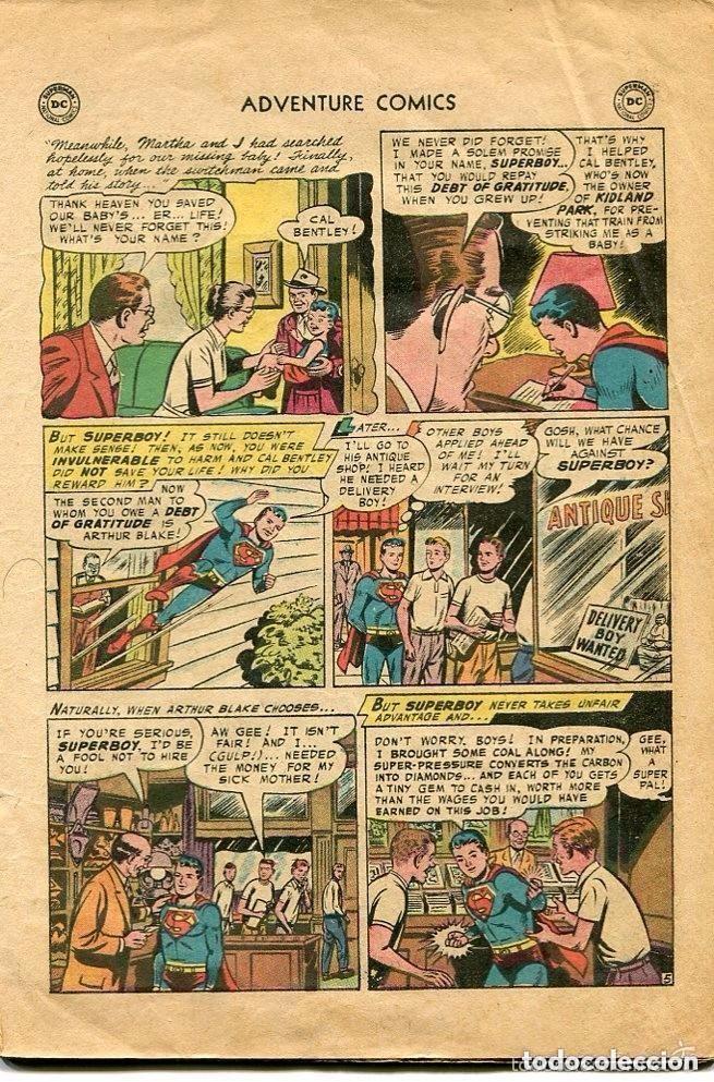 Tebeos: SUPERMAN-SUPERBOY-Nº 231-1956- PRINTED IN U.S.A - Foto 3 - 135175518