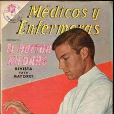 Tebeos: MEDICOS Y ENFERMERAS NUMERO 14. EL DOCTOR KILDARE. Lote 135321706