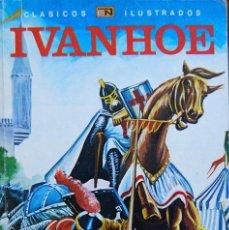 Tebeos: CLÁSICOS ILUSTRADOS IVANHOE. RODOLFO BELLANI / RICARDO CEBALLOS, NOVARO 1980. Lote 135451678