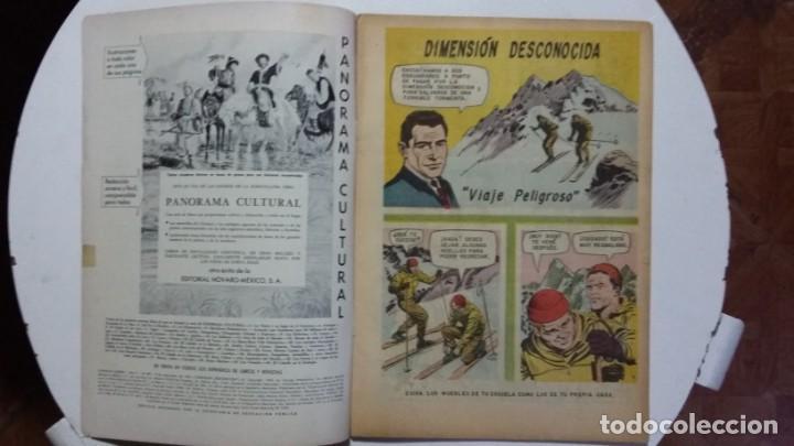 Tebeos: Dimensión desconocida! - Domingos alegres n°493 - original editorial Novaro - Foto 2 - 135483386