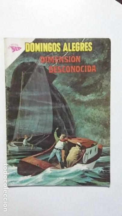 DIMENSIÓN DESCONOCIDA! - DOMINGOS ALEGRES N°493 - ORIGINAL EDITORIAL NOVARO (Tebeos y Comics - Novaro - Domingos Alegres)