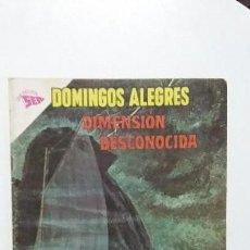 Tebeos: DIMENSIÓN DESCONOCIDA! - DOMINGOS ALEGRES N°493 - ORIGINAL EDITORIAL NOVARO. Lote 135483386