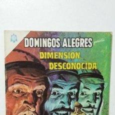 Tebeos: DIMENSIÓN DESCONOCIDA! - DOMINGOS ALEGRES N° 559 - ORIGINAL EDITORIAL NOVARO. Lote 135484018