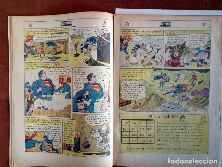Tebeos: Batman, Superman en su reino secreto. editorial Novaro. Número 99. - Foto 5 - 135675755