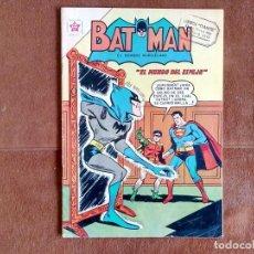 Tebeos: BATMAN NOVARO. EL MUNDO DEL ESPEJO. SALE SUPERMAN. NÚMERO 139. AÑO 1962. EJEMPLAR MUY DIFÍCIL.. Lote 135676727