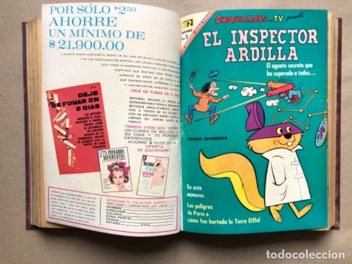 Tebeos: 15 EJEMPLARES DE LA EDITORIAL NOVARO (AÑOS 60s). ENCUADERNADOS. PORKY Y SUS AMIGOS, TOM Y JERRY, ... - Foto 8 - 135682439