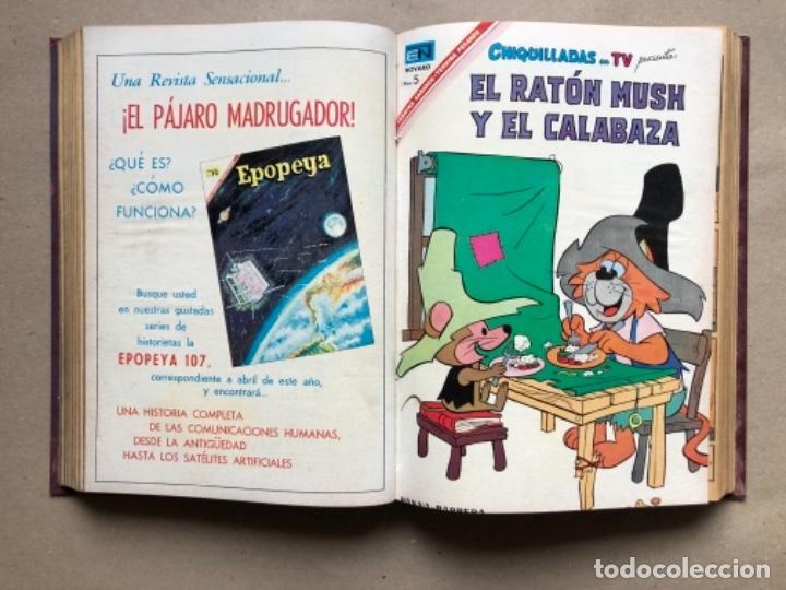 Tebeos: 15 EJEMPLARES DE LA EDITORIAL NOVARO (AÑOS 60s). ENCUADERNADOS. PORKY Y SUS AMIGOS, TOM Y JERRY, ... - Foto 9 - 135682439