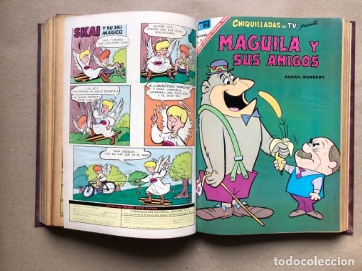 Tebeos: 15 EJEMPLARES DE LA EDITORIAL NOVARO (AÑOS 60s). ENCUADERNADOS. PORKY Y SUS AMIGOS, TOM Y JERRY, ... - Foto 13 - 135682439