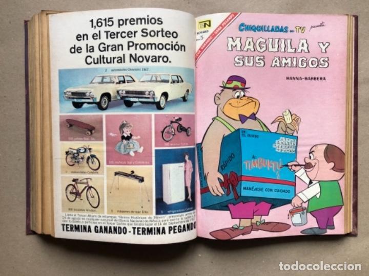 Tebeos: 15 EJEMPLARES DE LA EDITORIAL NOVARO (AÑOS 60s). ENCUADERNADOS. PORKY Y SUS AMIGOS, TOM Y JERRY, ... - Foto 14 - 135682439